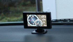 人気の車載GPSレーダー探知機を設置、配線して取り付けてみた