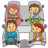 シートベルト違反の違反点数と反則金(罰金)一覧表【座席ベルト装着義務違反】